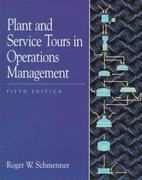 Plant and Service Tours in Operations Management 5th Edition 9780132572477 0132572478