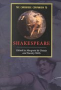 The Cambridge Companion to Shakespeare 1st Edition 9780521658812 0521658810