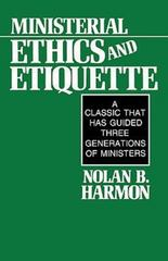 Ministerial Ethics and Etiquette 2nd edition 9780687270347 0687270340
