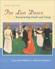 The Last Dance 6th edition 9780767421621 0767421620