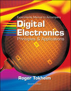 Experiments Manual t/a Digital Electronics: Principles and Applications w/MultiSim CD ROM 7th edition 9780073319957 0073319953