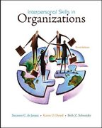 Interpersonal Skills in Organizations 3rd edition 9780073405018 0073405019