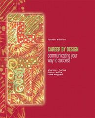 Career by Design 4th edition 9780132330909 0132330903