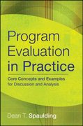 Program Evaluation in Practice 1st Edition 9780787986858 0787986852