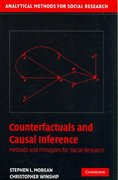 Counterfactuals and Causal Inference 1st edition 9780521856157 0521856159