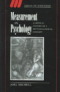 Measurement in Psychology 0 9780521021517 0521021510