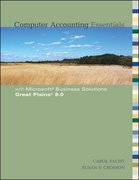 Computer Accounting Essentials 1st edition 9780073129662 0073129666