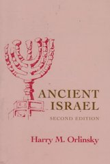 Ancient Israel 2nd Edition 9780801498497 080149849X
