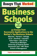 Essays That Worked for Business Schools (Revised) 0 9780345450432 0345450434