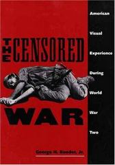 The Censored War 1st Edition 9780300062915 0300062915