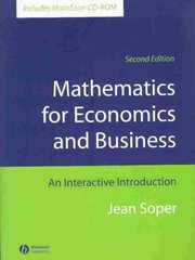 Mathematics for Economics and Business 2nd Edition 9781405111270 1405111275