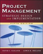 Project Management 5th Edition 9780071471602 007147160X