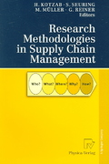 Research Methodologies in Supply Chain Management 1st edition 9783790815832 3790815837