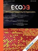 Emergence, Complexity and Organization 0 9780979168857 0979168856