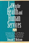 Law in the Health and Human Services 1st edition 9780743267434 0743267435