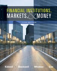 Financial Institutions, Markets, and Money 11th Edition 9780470561089 0470561084