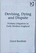 Devising, Dying and Dispute 1st Edition 9781317151692 1317151690