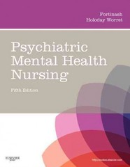 Psychiatric Mental Health Nursing 5th Edition 9780323075725 032307572X