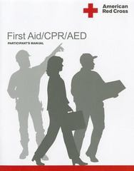 American Red Cross First Aid/CPR/AED Participant's Manual 1st Edition 9781584804796 1584804793