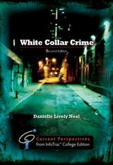 White Collar Crime 2nd edition 9781111828172 1111828172