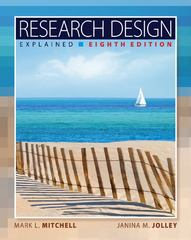 Research Design Explained 8th edition 9781133049838 1133049834