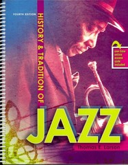 History and Tradition of Jazz 4th Edition 9780757587276 0757587275