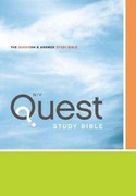 Niv Quest Study Bible 1st Edition 9780310941484 0310941482