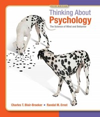 Thinking About Psychology 3rd Edition 9781429233262 1429233265