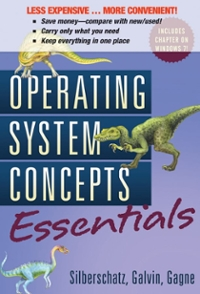 Operating System Concepts Essentials 1st edition 9780470917732 0470917733