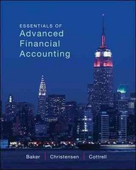 Essentials of Advanced Financial Accounting with Connect Plus 1st edition 9780077869755 0077869753