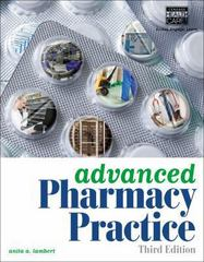 Advanced Pharmacy Practice 3rd Edition 9781133131410 1133131417