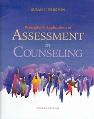 Principles and Applications of Assessment in Counseling 4th Edition 9781285401652 1285401654