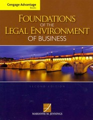 Cengage Advantage Books: Foundations of the Legal Environment of Business 2nd Edition 9781133187523 1133187528