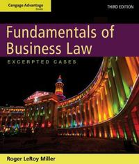 Cengage Advantage Books: Fundamentals of Business Law 3rd Edition 9781133709954 1133709958