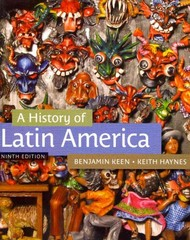 A History of Latin America 9th edition 9781133050506 1133050506