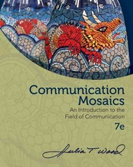 Communication Mosaics 7th Edition 9780840028181 0840028180