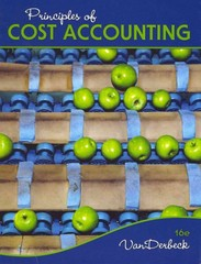 Principles of Cost Accounting 16th edition 9781133187868 1133187862