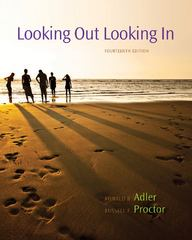 Looking Out, Looking In 14th edition 9780840028174 0840028172