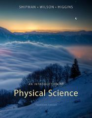 An Introduction to Physical Science 13th edition 9781133109099 1133109098