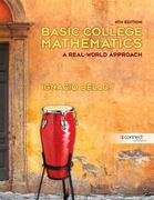 Basic College Math w/ Connect Plus Access Card 4th Edition 9780077526849 0077526848