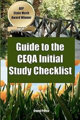 Guide to the CEQA Initial Study Checklist 1st Edition 9781460948750 1460948750