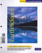 Earth Science, Books a la Carte Plus MasteringGeology -- Access Card Package 13th edition 9780321791627 0321791622