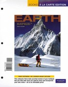 Earth: An Introduction to Physical Geology, Books a la Carte Plus MasteringGeology -- Access Card Package 10th edition 9780321791634 0321791630