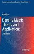 Density Matrix Theory and Applications 3rd edition 9783642205606 3642205607