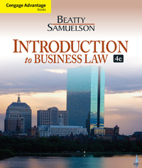 Cengage Advantage Books: Introduction to Business Law 4th Edition 9781133188155 113318815X