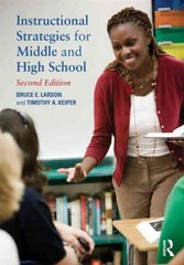 Instructional Strategies for Middle and High School 2nd edition 9780415898133 0415898137