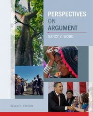 Perspectives on Argument 7th Edition 9780205060337 0205060331