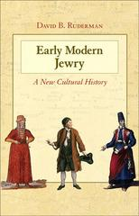 Early Modern Jewry 1st Edition 9780691152882 0691152888