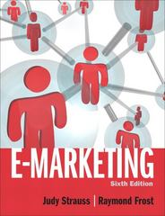 E-Marketing 6th edition 9780132147552 0132147556