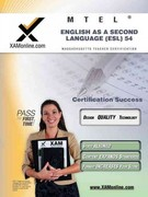 MTEL English as a Second Language (ESL) 54 Teacher Certification Test Prep Study Guide 0 9781607870845 1607870843
